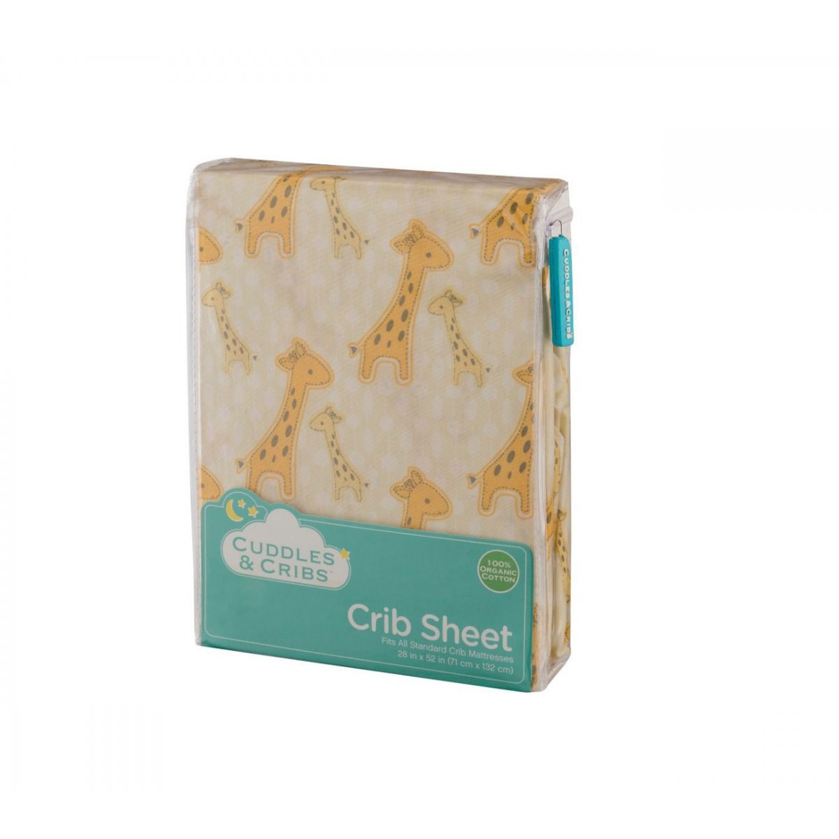 Giraffe Crib Sheet 1 Pack