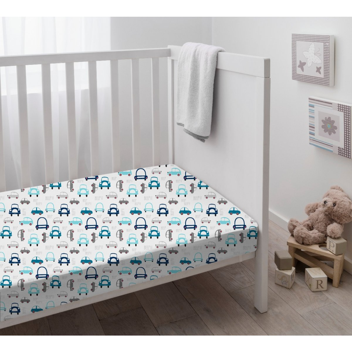 Cars Crib Sheet 1 Pack