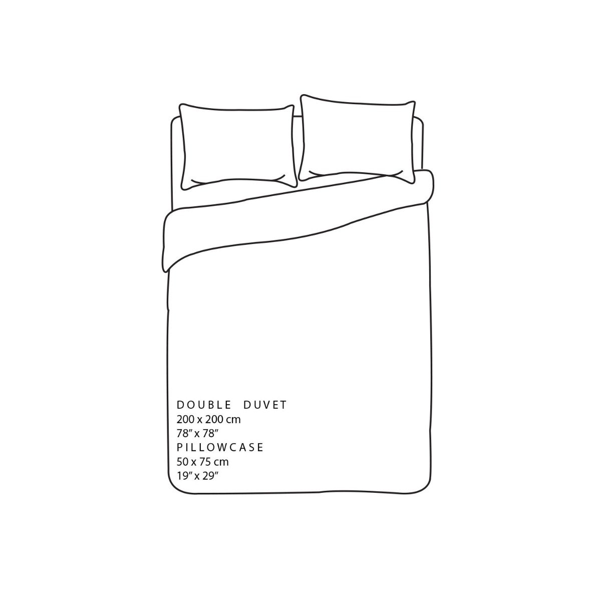 Twiggy Flowers Bedding - Reversible Duvet Cover and Pillowcase Set