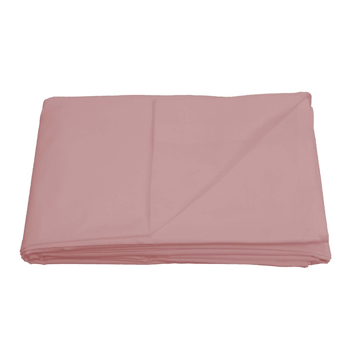 Easy Care Non-Iron Flat Sheet Pink