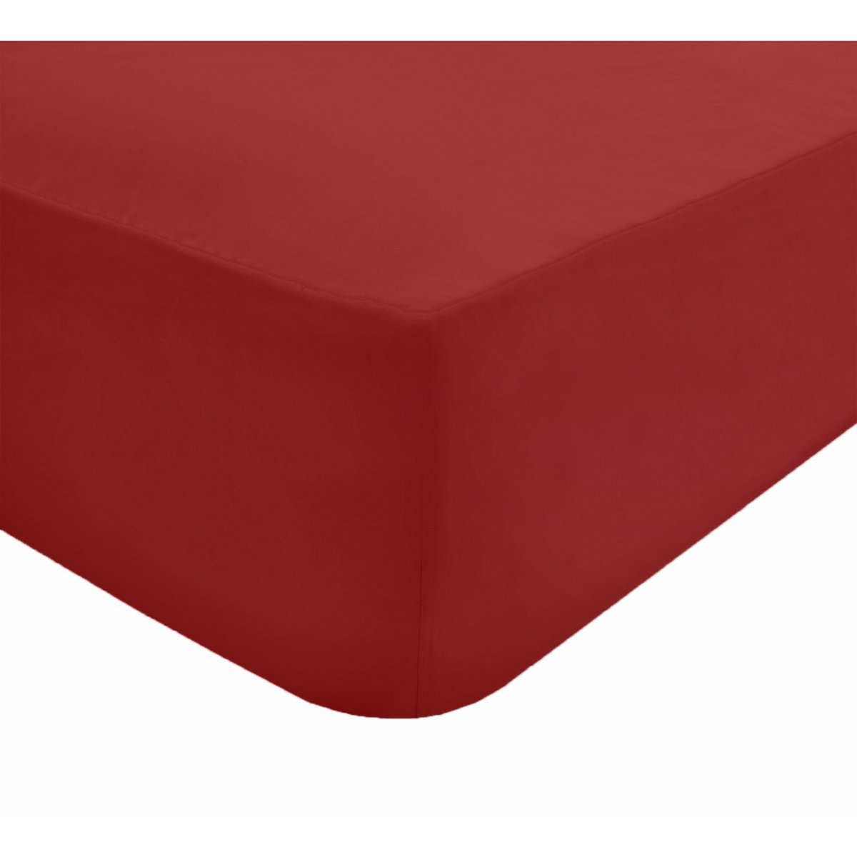 Fitted Bed Sheet Red