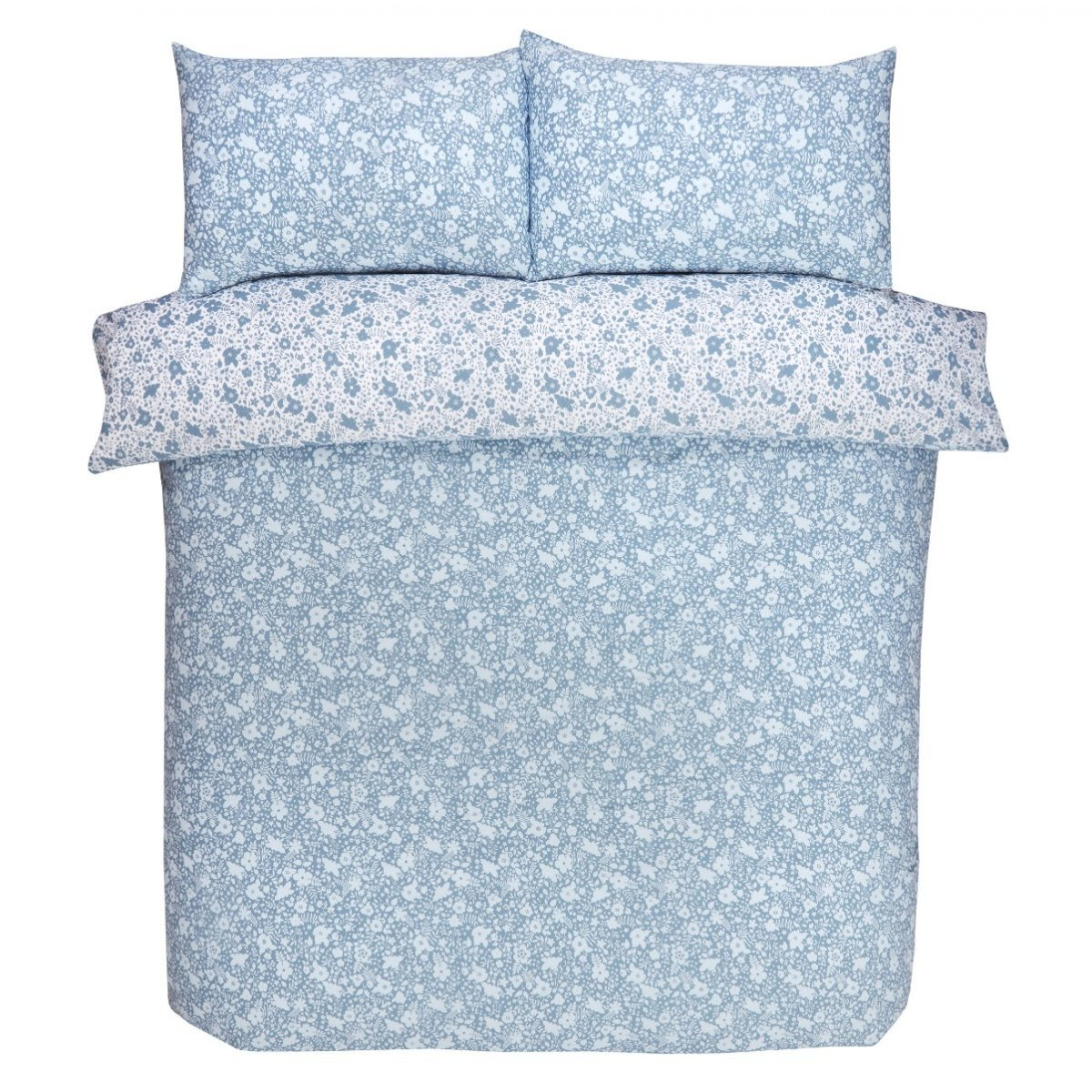 Ditsy Floral Bedding - Reversible Duvet Cover and Pillowcase Set