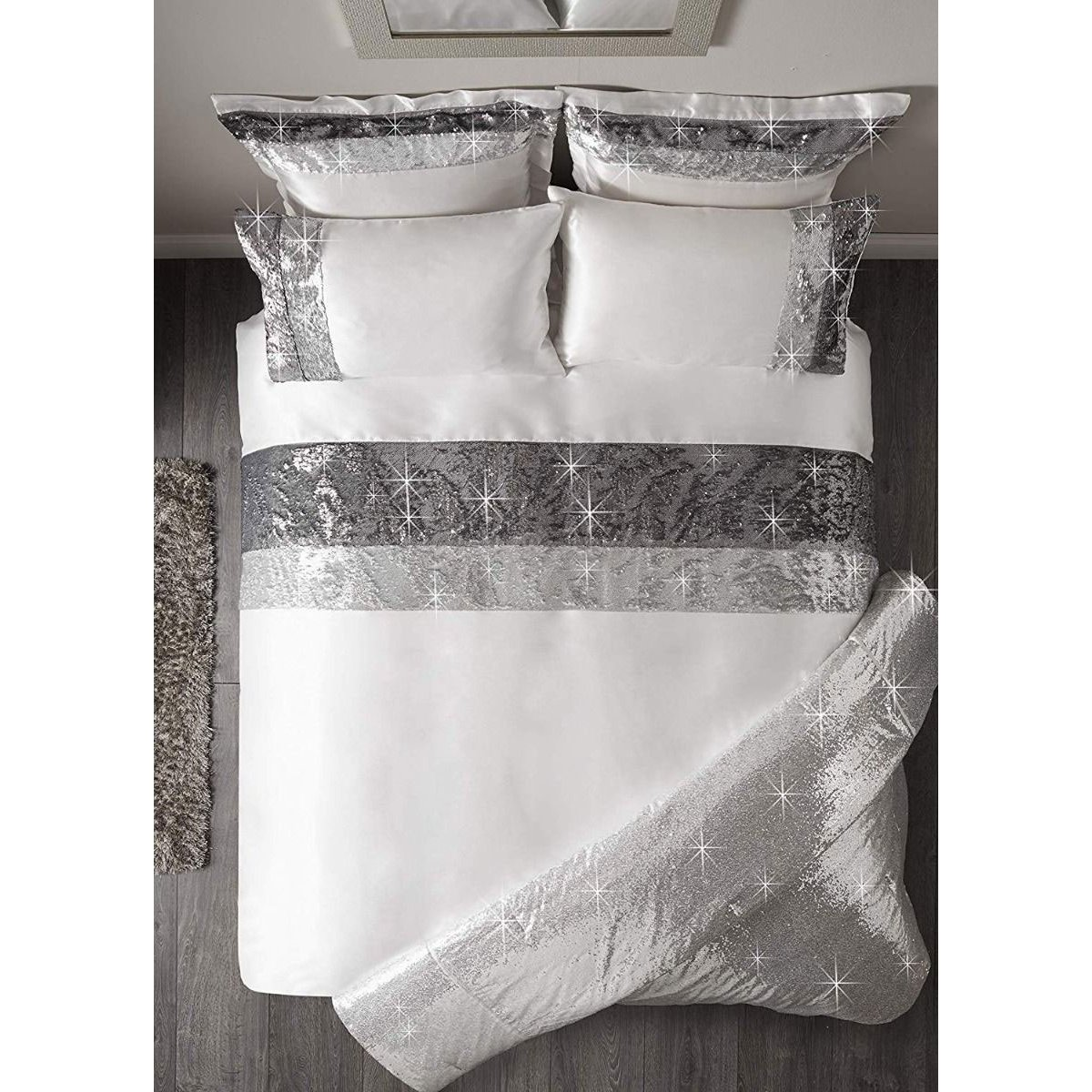 Caprice Adriana Bedding - Reversible Duvet Cover and Pillowcase Set