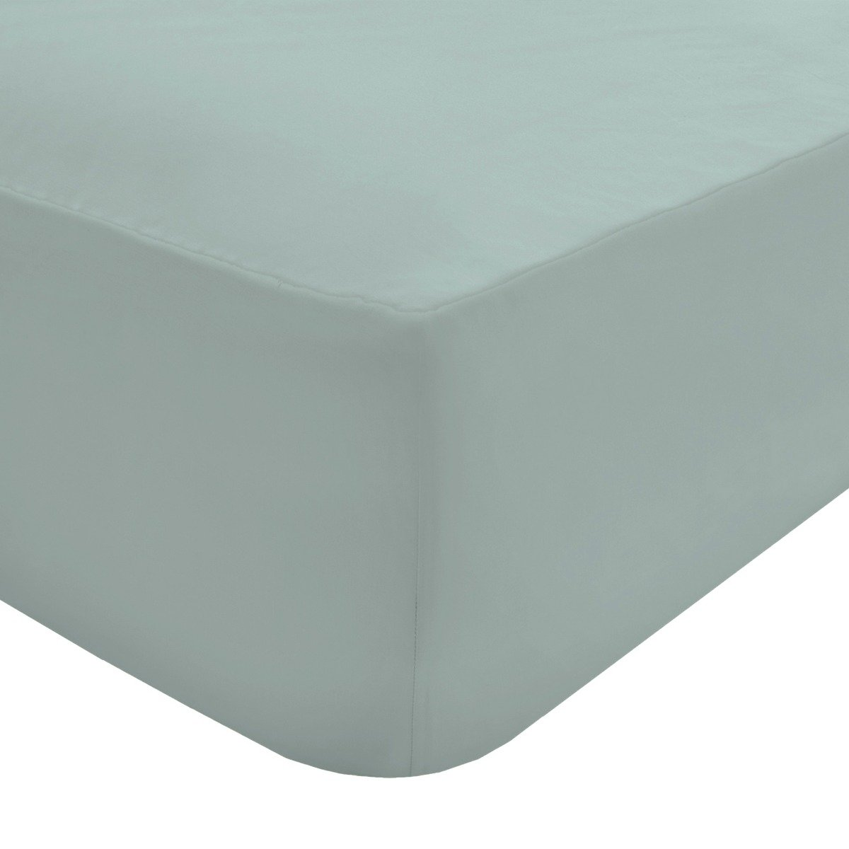 100% Egyptian Cotton 200 Thread Count Fitted Sheet Duck Egg