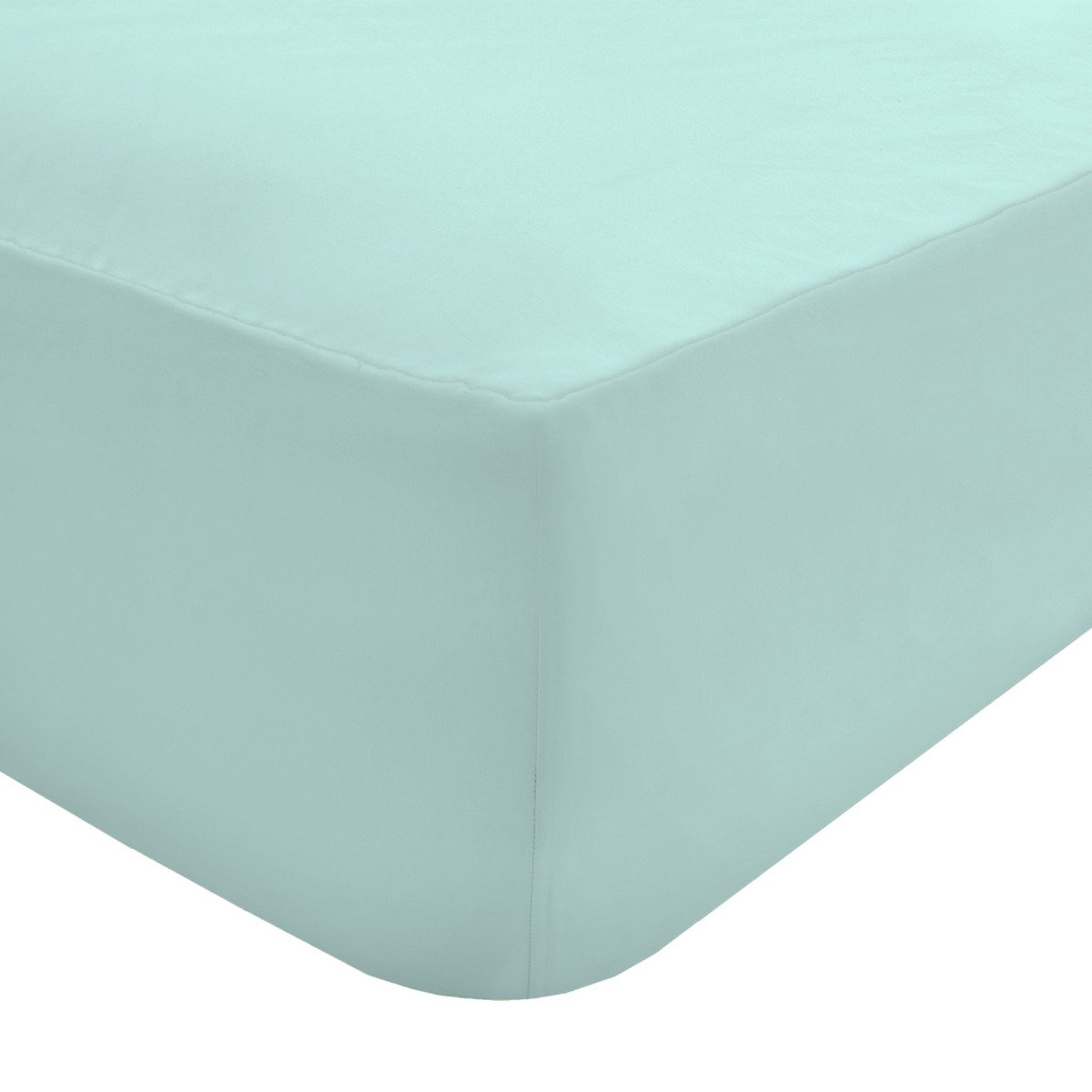 100% Egyptian Cotton 200 Thread Count Flat Sheet Silver