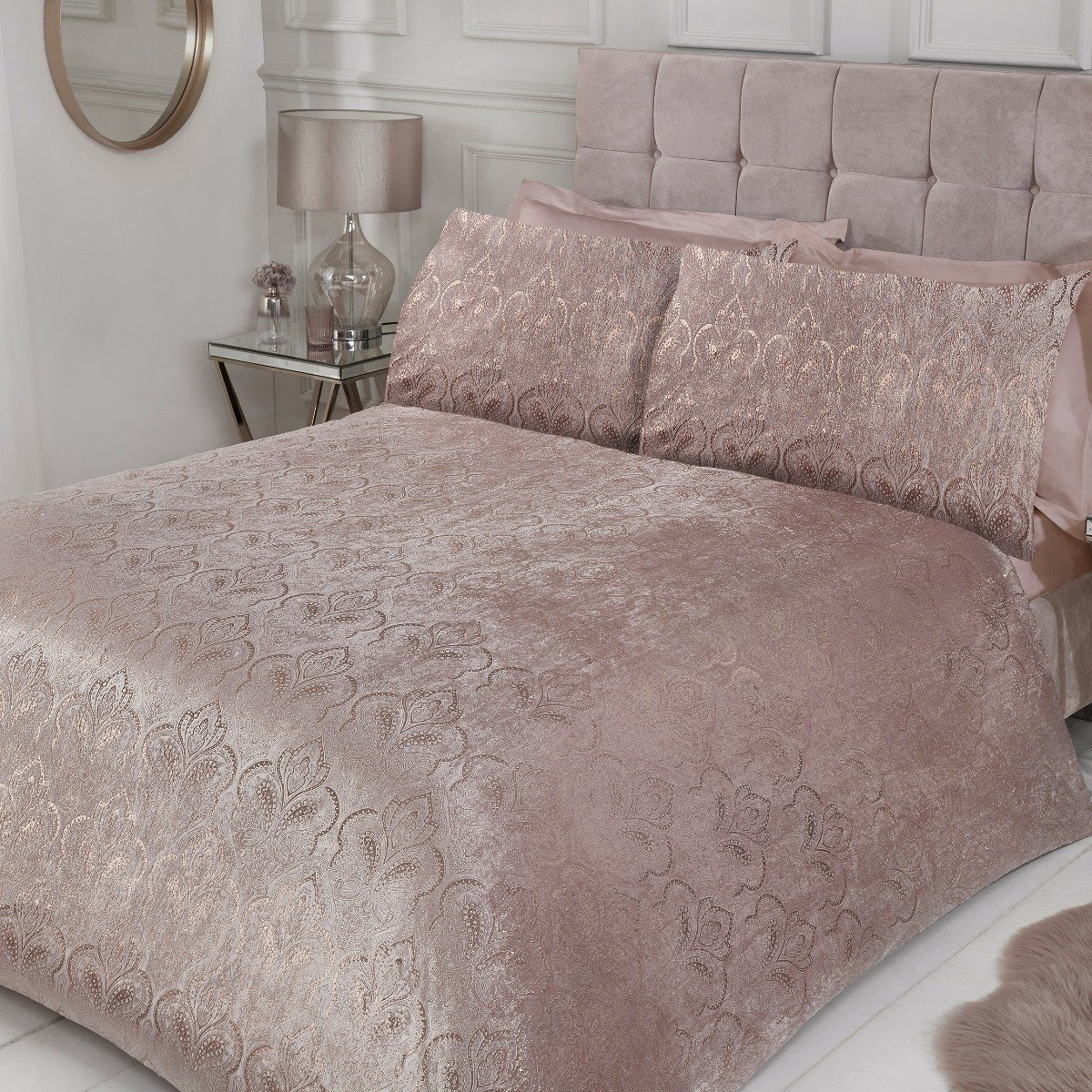 Paisley Bedding - Luxury Duvet Cover and Pillowcase Set