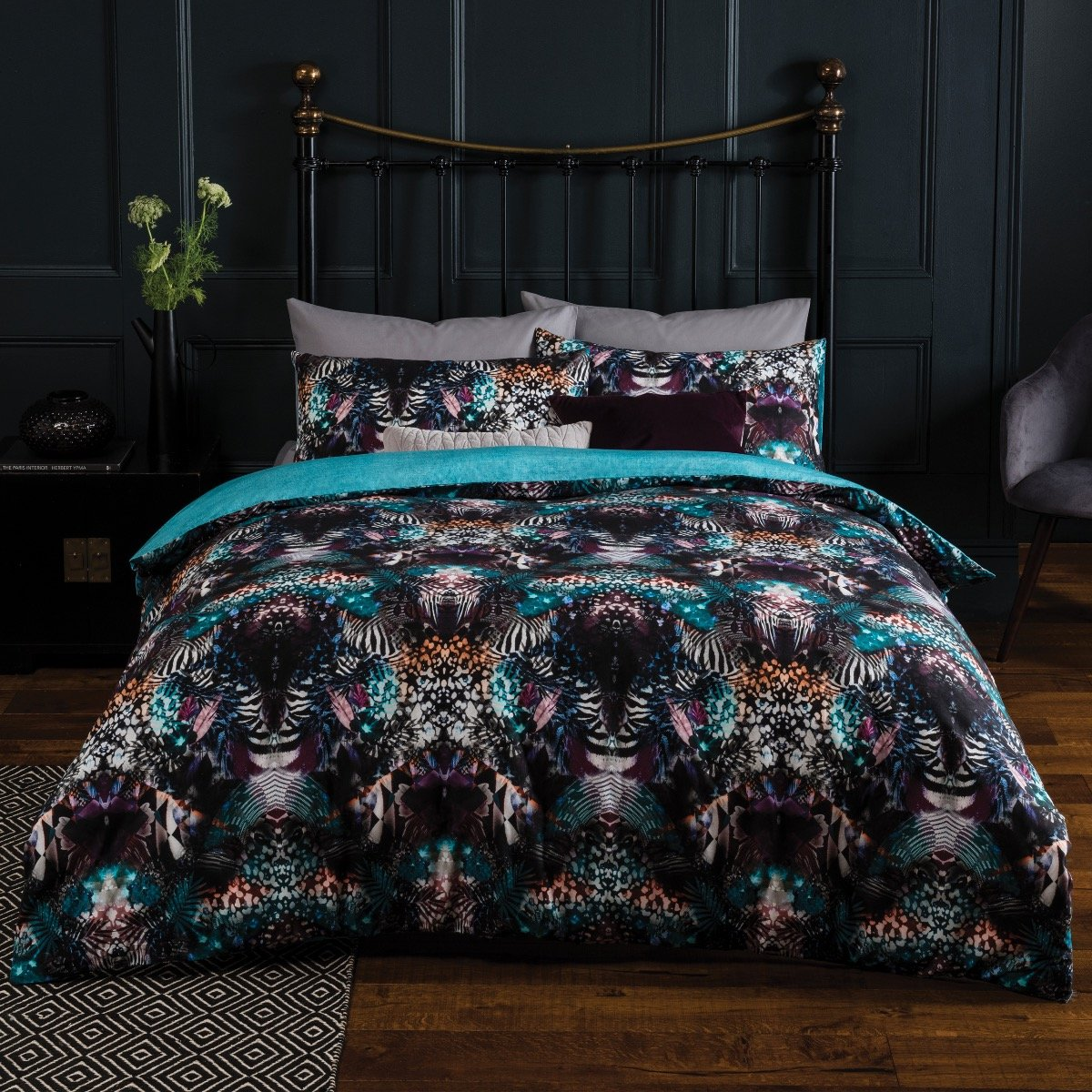 Leopard Texture Bedding Set Sleepdown Official Uk Duvet Cover Sets Bedding Linen