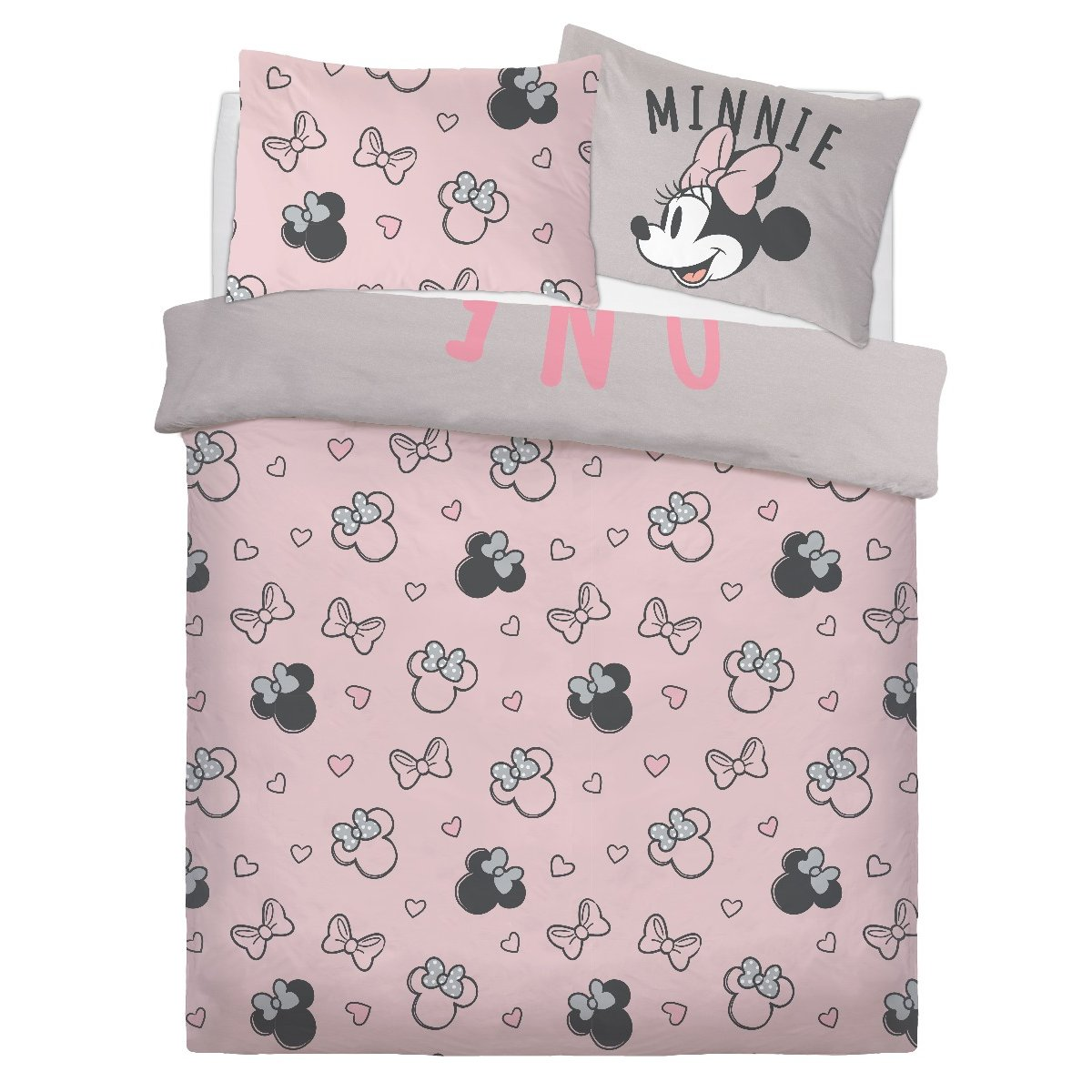 Minnie Mouse Double Bed Duvet Cover