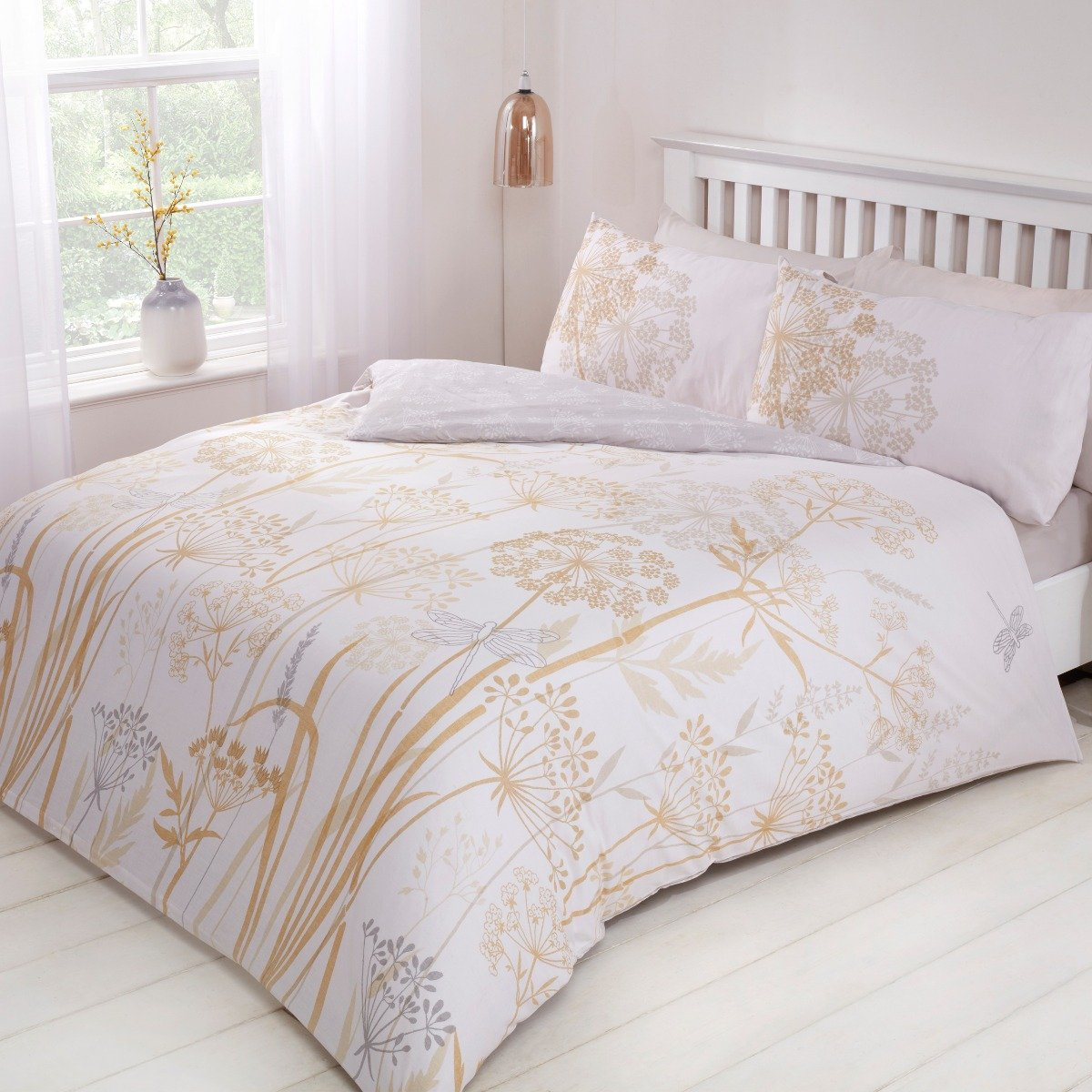 Country Meadow Bedding - Reversible Duvet Cover and Pillowcase Set