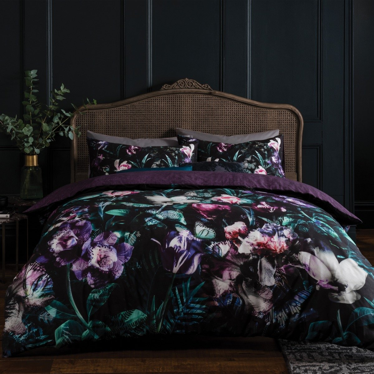 Opulent Floral Bedding Set Sleepdown Official Uk Duvet Cover Sets Bedding Linen
