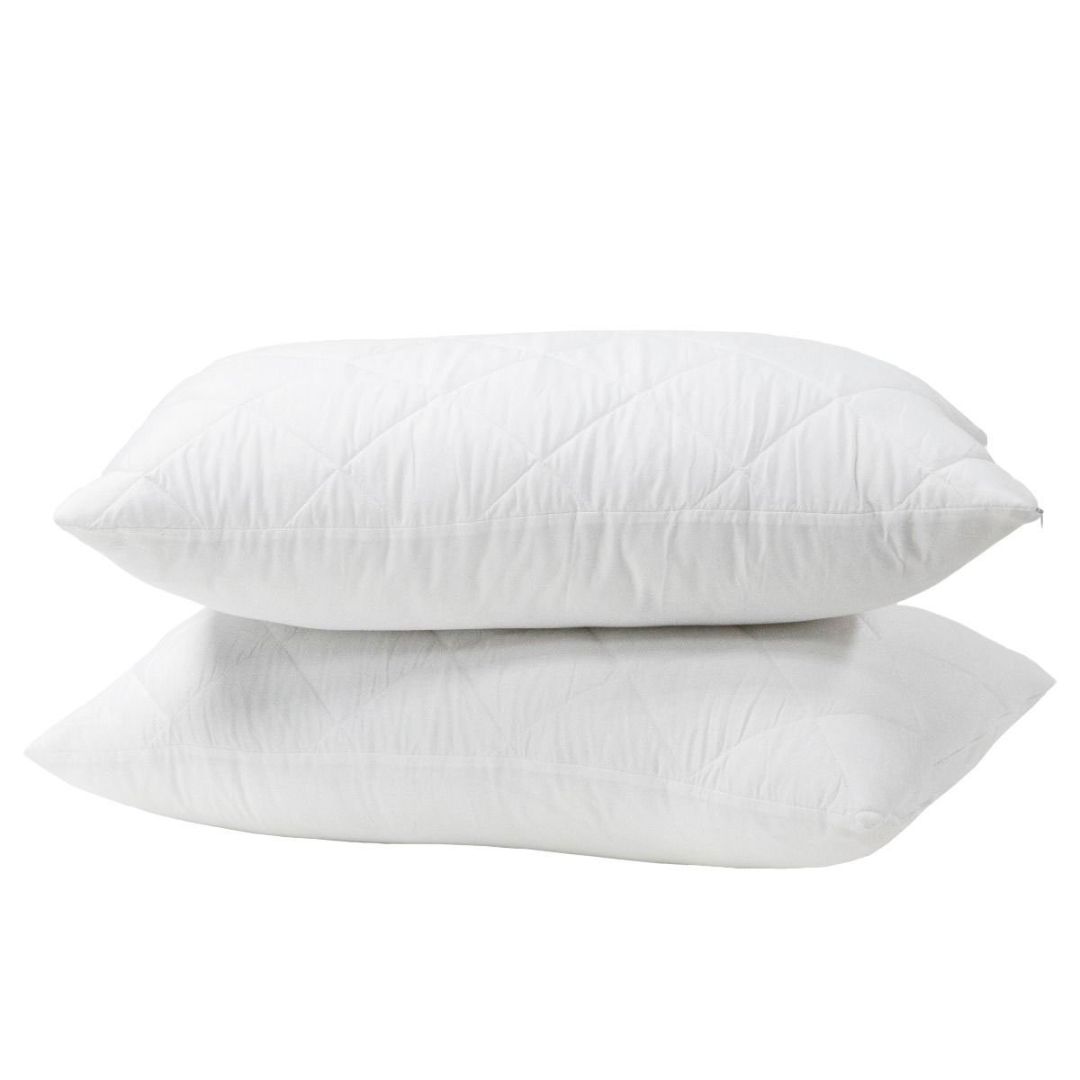 Easy Care Zipped Pillow Protector Pair