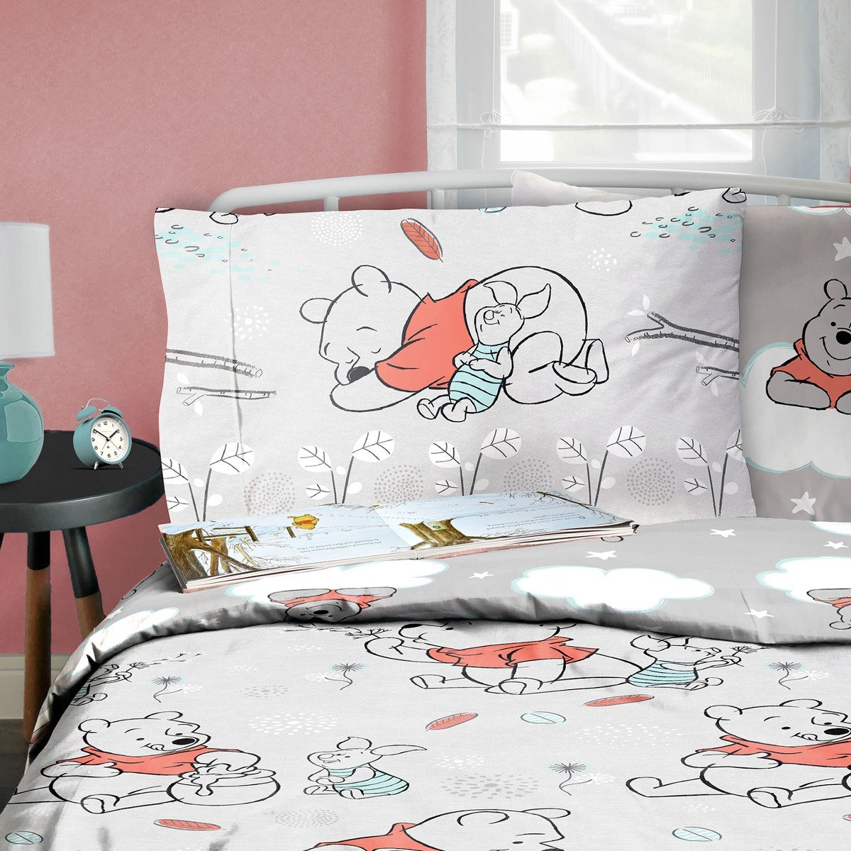 Winnie The Pooh Whimsy Cloud Bedding Set