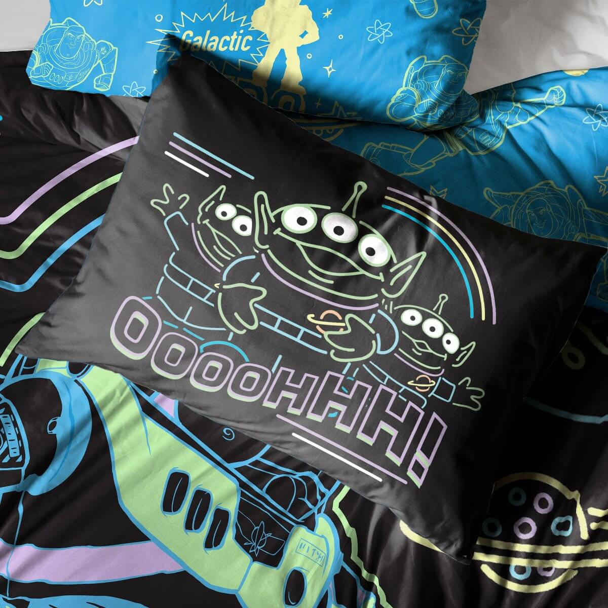 Toy Story Intergalactic Bedding - Reversible Duvet Cover and Pillowcase Set