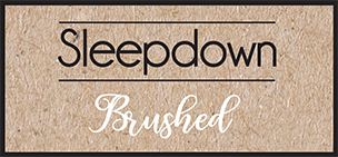 Sleepdown Brushed